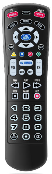 Big Button Royal Remote