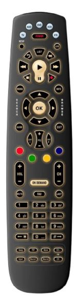 Back Lit remote
