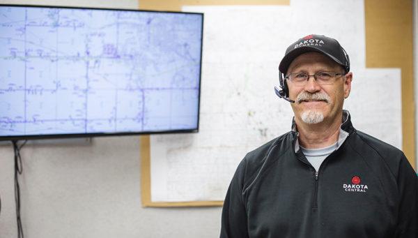 Local dispatcher at Dakota Central