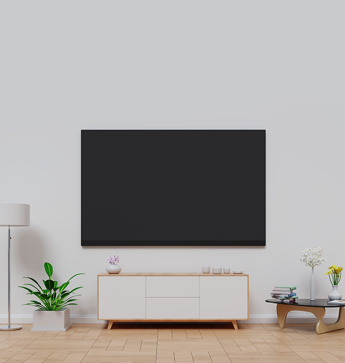 Digital TV in modern home