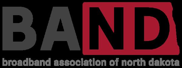BAND-the Broadband Association of North Dakota logo