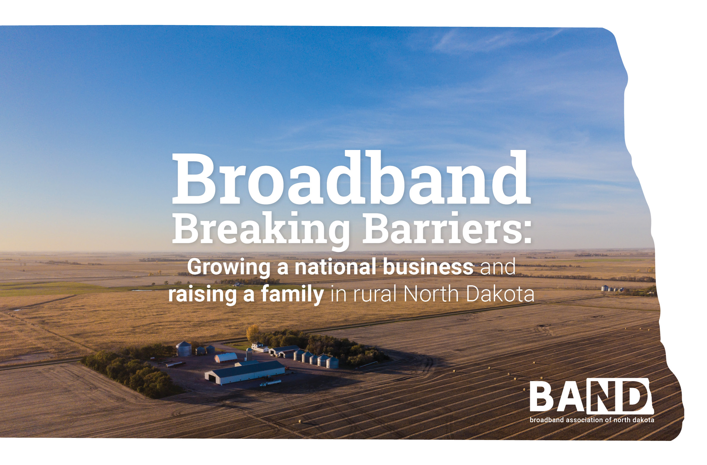 2019-07 BAND Broadband Breaking Barriers Wireframe Graphics